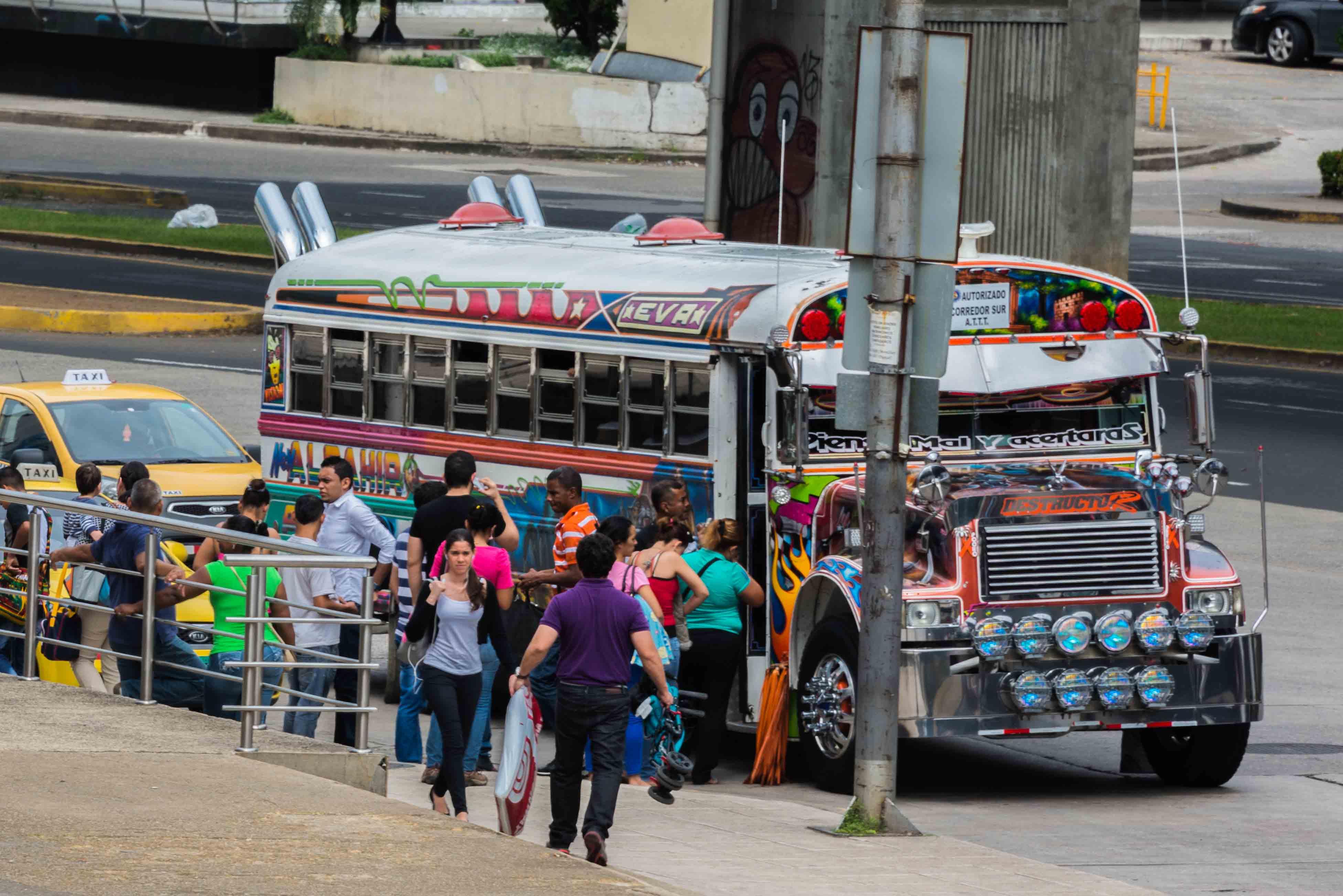 Transit Bus Windows Jkh Panama D Lr
