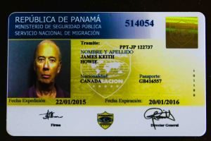 Temporary Pensionado ID card, valid for one year, with a terrible picture.